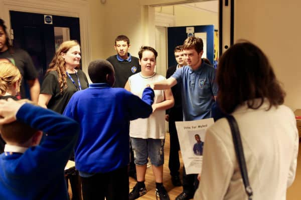 Eagle House school holds its own elections