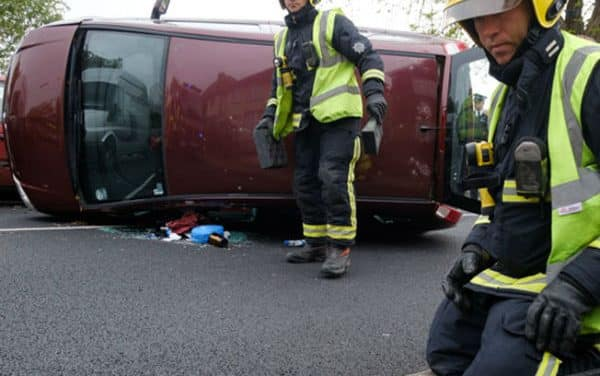 Fire brigade issue plea for drivers to slow down as collision call rise
