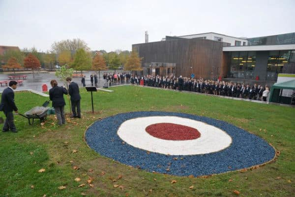Stanley Park High students and staff unveil unique memorial