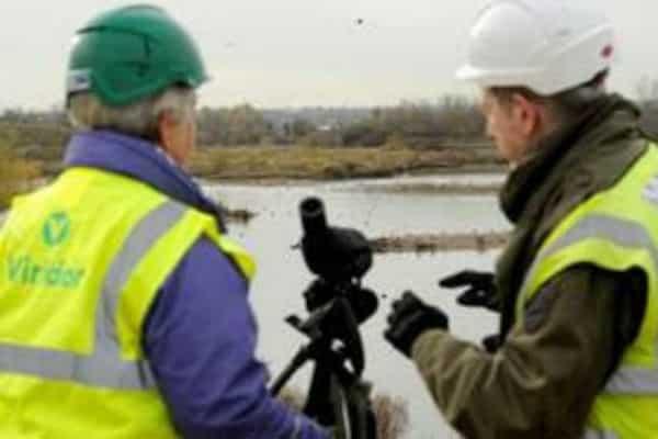 Work underway to create new grassland habitat on Beddington Farmlands