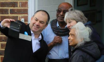 PM Theresa May comes to borough to launch local election campaign