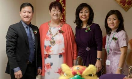 Mayor joins VIPs for Chinese New Year celebrations