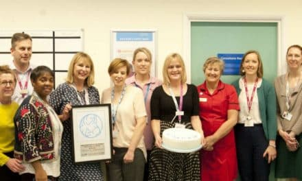 Epsom and St Helier re-accredited as a stage 3 Baby Friendly Trust!