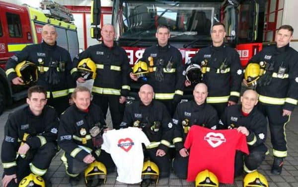 Firefighters' marathon effort for Grenfell survivors