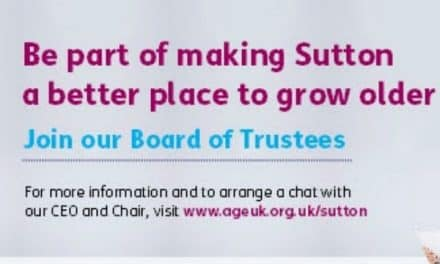 Be a part making Sutton a better place to grow older