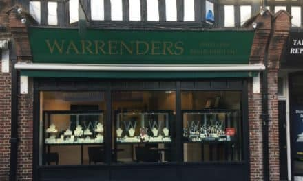 Sutton jewellers Warrenders short listed in top retail awards