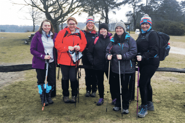 'And I would walk'… all the way round the Isle of Wight – midwives take on challenge